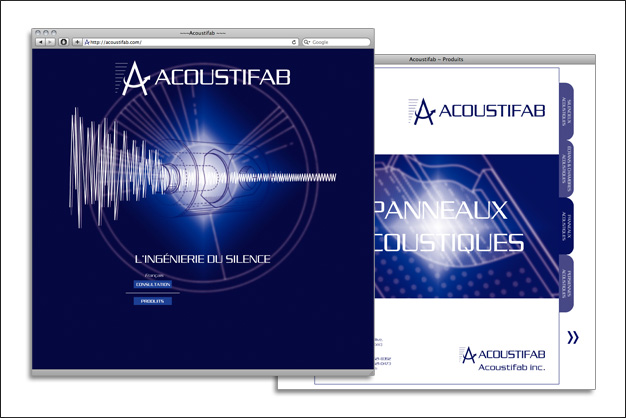 Acoustifab site web